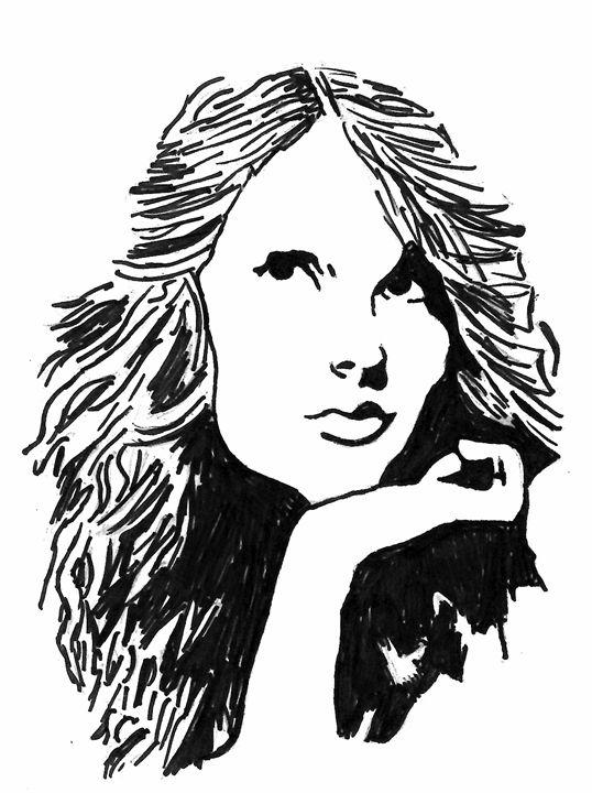 Taylor Swift pop art - Hope McDonald