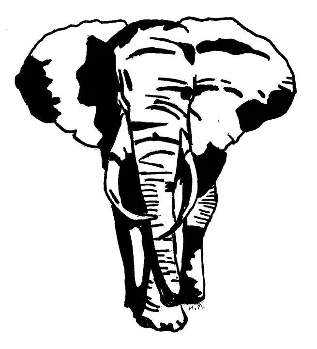 Elephant - Hope McDonald