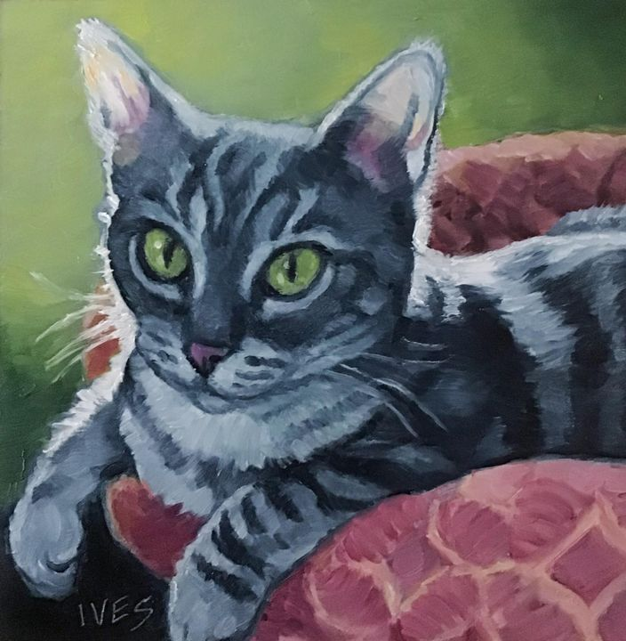 Small Pet Portrait Example - RKIves