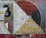 Painting of number Pi