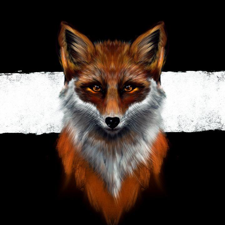 Amber Fauna | Fox - Wallflower Workshop Art