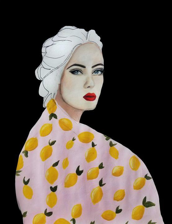 Citron | Female Portrait - Wallflower Workshop Art
