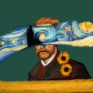 Starry Eyed | Van Gogh Portrait