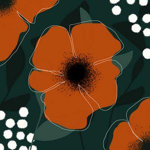 Flora | Line Art