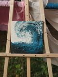 Fluid Art Original Painting