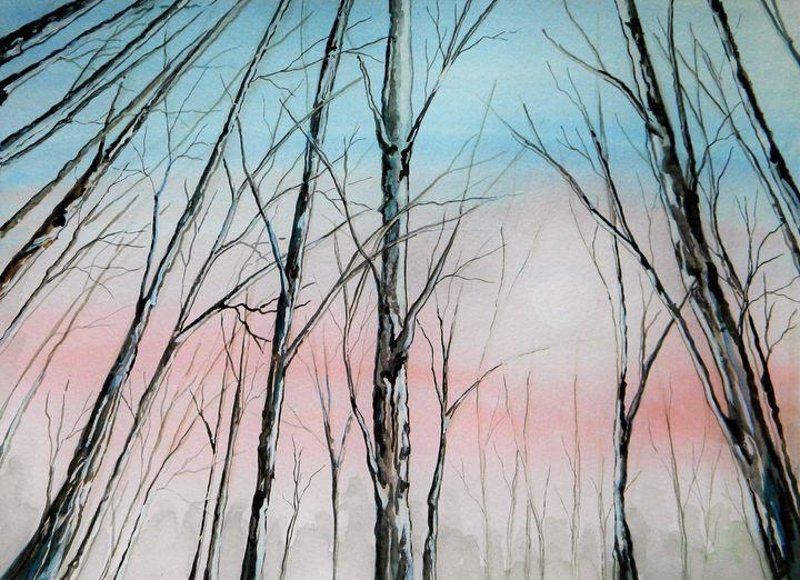 Pink Skies - Judy Horan