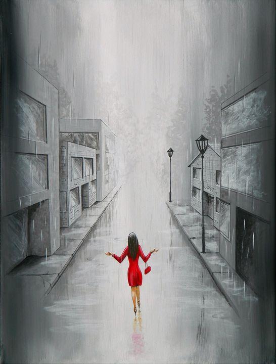 Caught in the Rain - Judy Horan