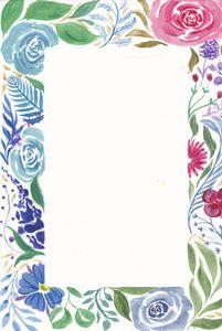 pastel floral wreath