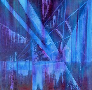 Neon City Rain