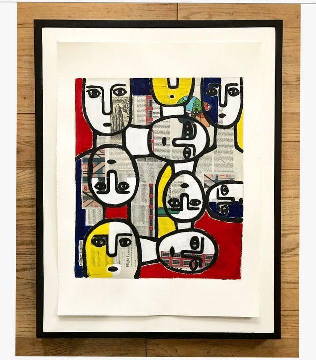 Solitary Together - Karlton Johnson Fine Art