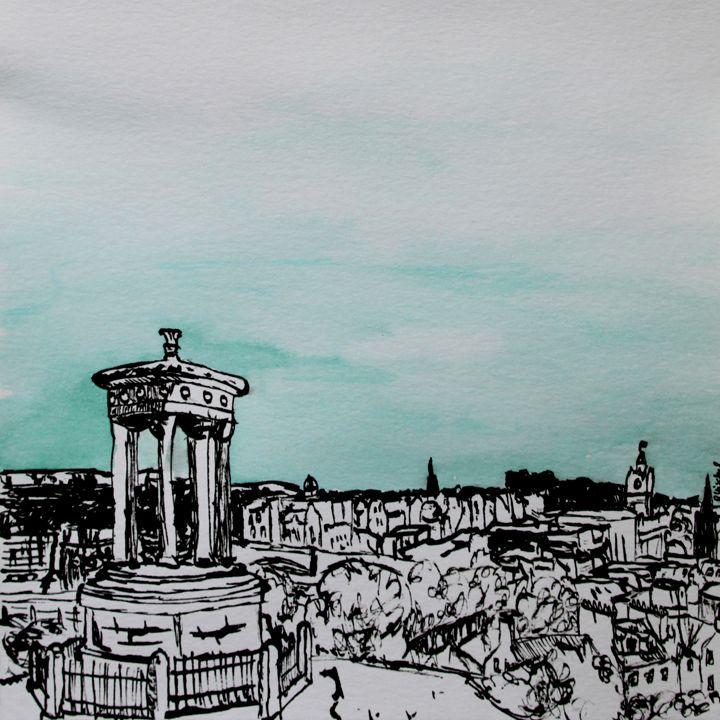 Edinburgh 01 - MyCityArt