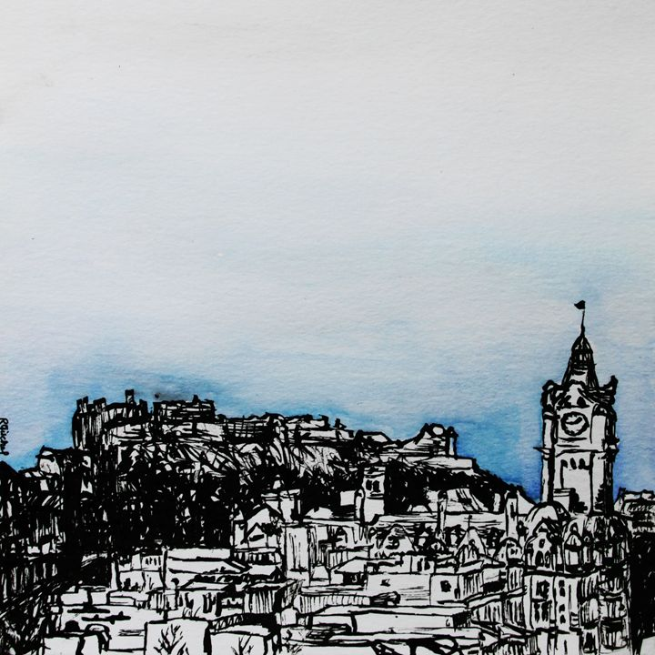 Edinburgh 03 - MyCityArt