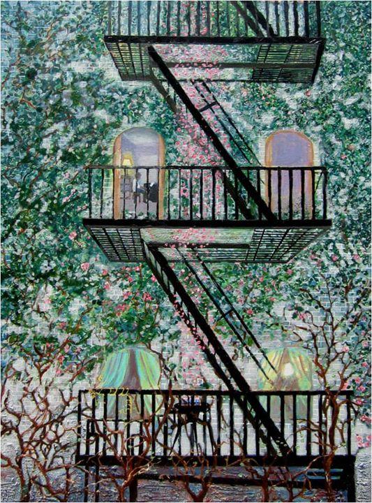 Falling Rose Petals - Clare Radigan