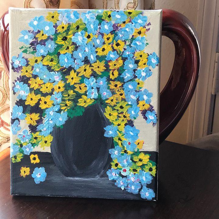The Black Vase - AmaLart