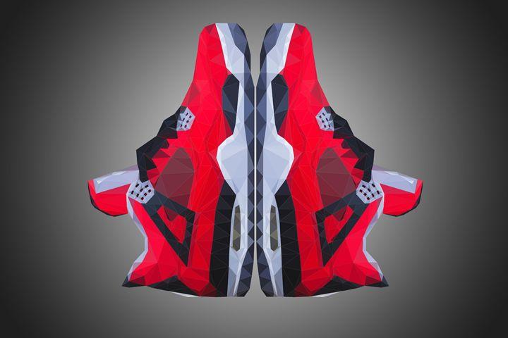 """Air Jordan 4 Retro """"Toro Bravo"""" - Dmitriy Voitsekhivskiy"""