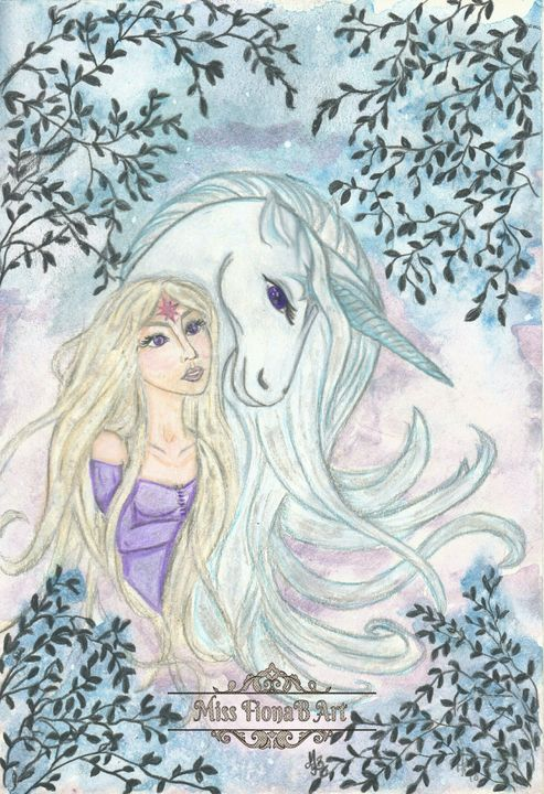Soul Companion - Miss FionaB Fantasy Artwork