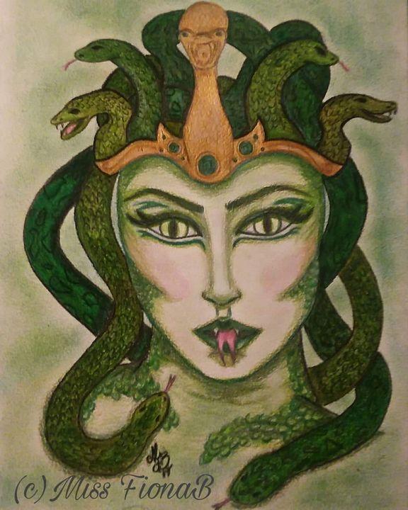Medusa - Miss FionaB Fantasy Artwork