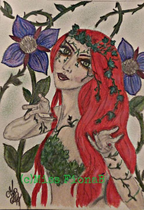 Oison ivy - Miss FionaB Fantasy Artwork