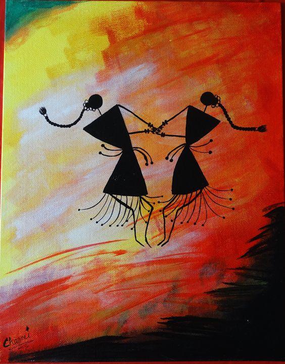 Warli Art - Charmin