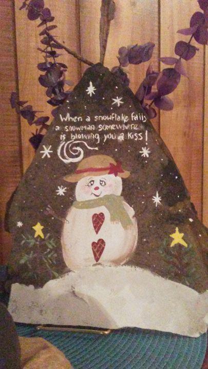 Snowlady - Everything Rocks by Berta