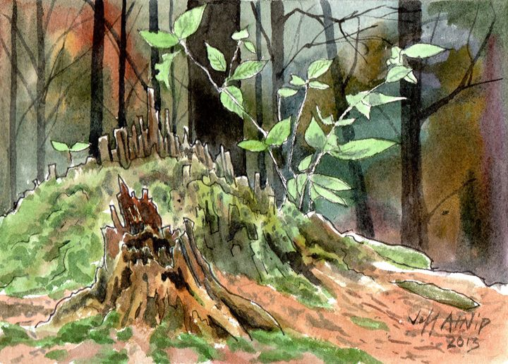 Mossy - Jeff Atnip Art