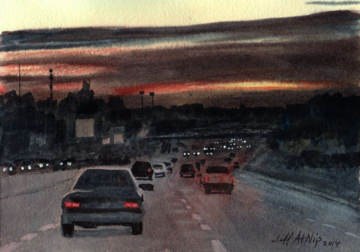 Almost Home - Jeff Atnip Art