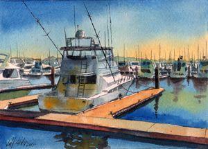 A Nice Boat - Jeff Atnip Art