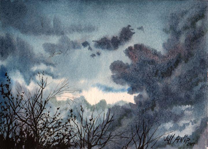 Storm On The Way - Jeff Atnip Art