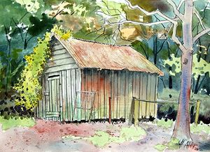 Storage Shed - Jeff Atnip Art