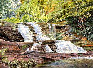 Conasauga Falls - Jeff Atnip Art