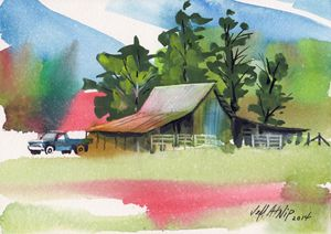 Free Barn - Jeff Atnip Art