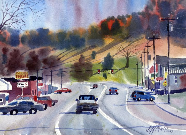 Eagleville - Jeff Atnip Art