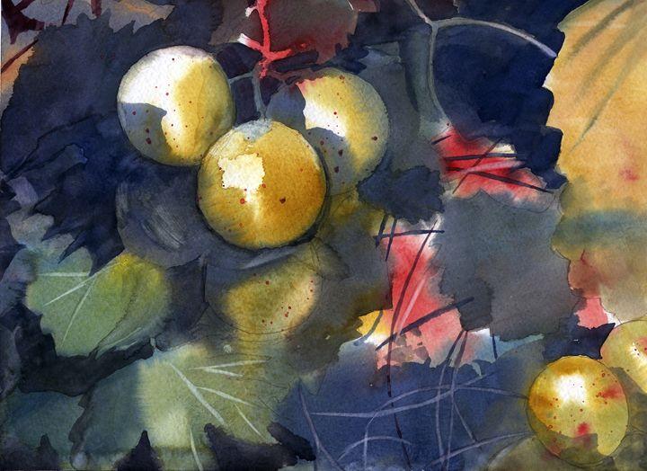 Muscadines - Jeff Atnip Art