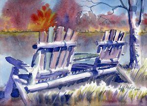 Joe's Pond Rest - Jeff Atnip Art