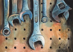Wrenches - Jeff Atnip Art