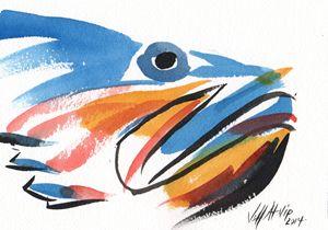 Fish Head - Jeff Atnip Art