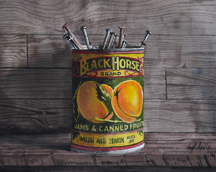 Recycled Can - Jeff Atnip Art