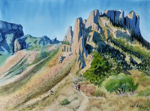 Big Bend Trail - Jeff Atnip Art