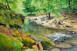 Bankhead Creek - Jeff Atnip Art