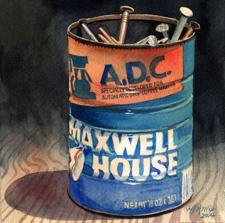 Can of Nails - Jeff Atnip Art