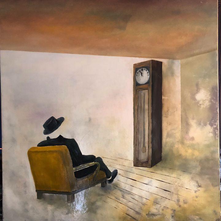 Invisible man waiting - Razvan Burnete