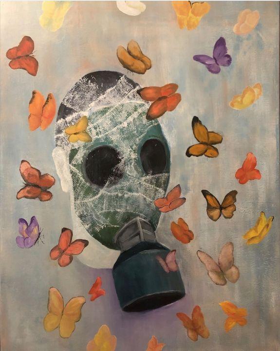 Gas mask - Razvan Burnete