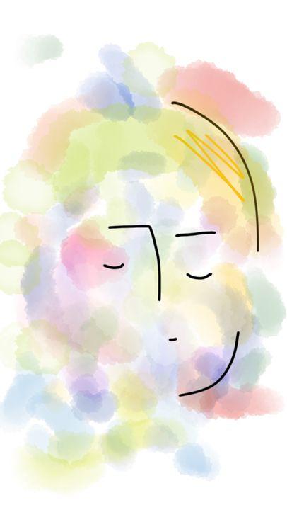 Cloudy face - Hjortur