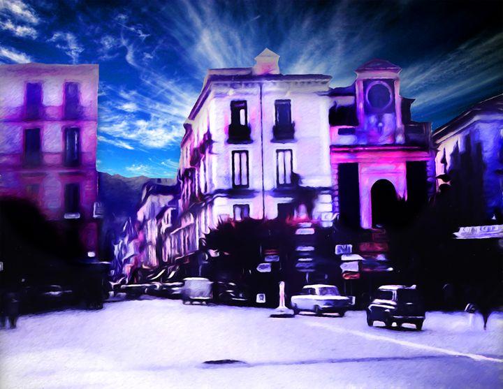 City Through Alien Eyes - Arte Di Vendicatore