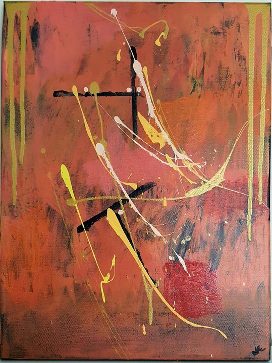 Abstraction II - Artistically by Jonelle