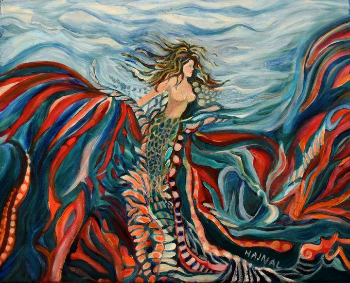 Seamaid - Hajna V. Csorba, Artist.