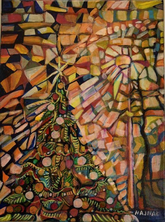 Oh Christmas Tree - Hajna V. Csorba, Artist.