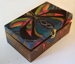 Colorful Wooden Box
