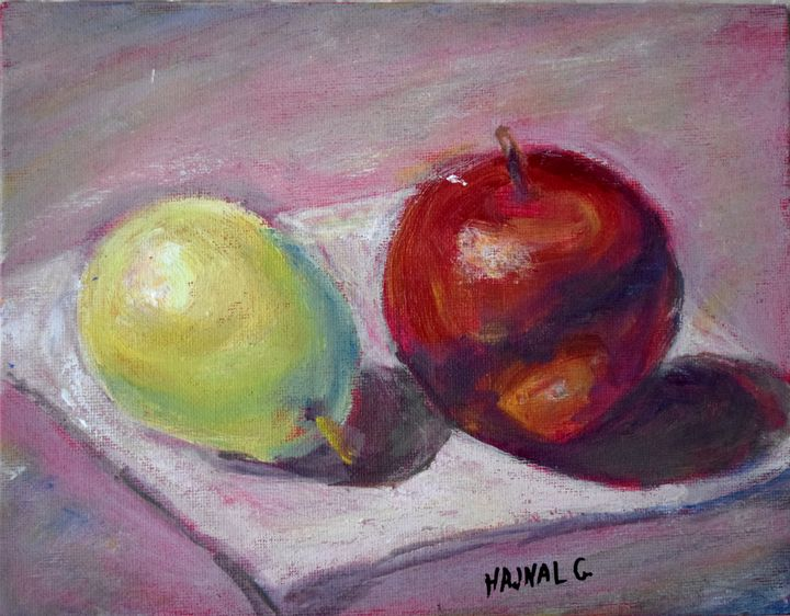 Summer Fruits - Hajna V. Csorba, Artist.