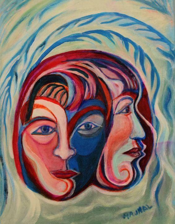 Indecision - Hajna V. Csorba, Artist.